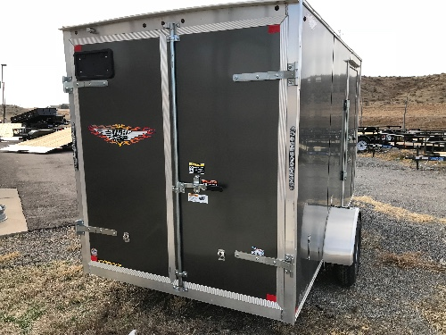 USED 2017 H&H Trailer 72 in X 12 ft Cargo
