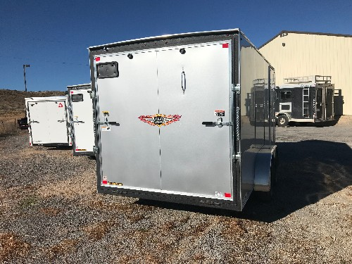 USED 2018 H&H Trailer 84 in X 16 ft Cargo