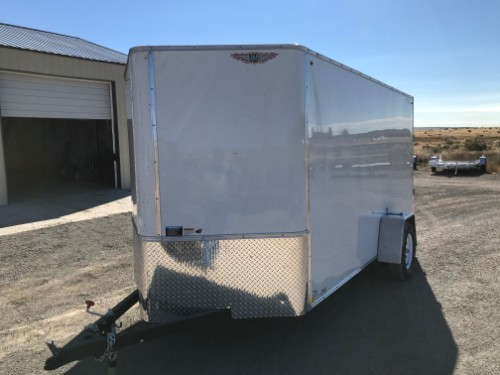 NEW 2019 H&H Trailer 72 in X 12 ft