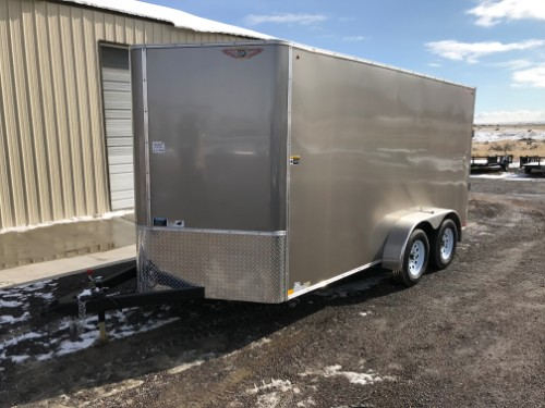 NEW 2019 H&H Trailer 84 in X 16 ft