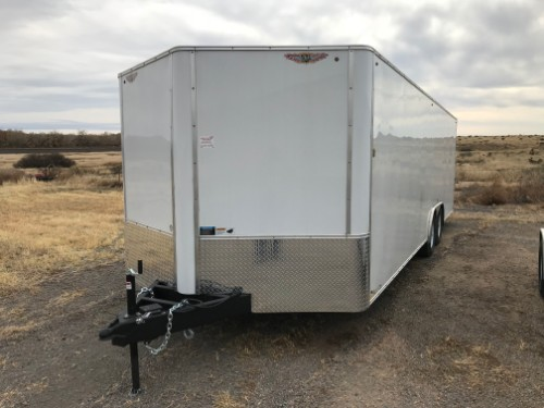 NEW 2019 H&H Trailer 101 in X 24 ft