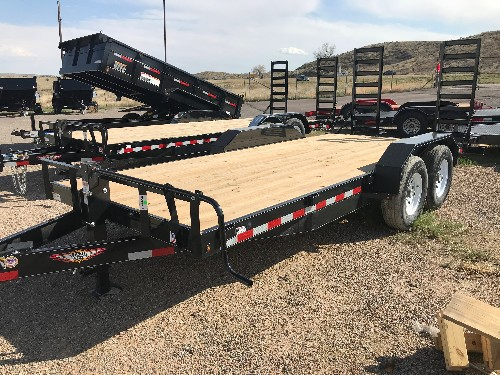 NEW 2018 H&H Trailer 82 in X 18 ft